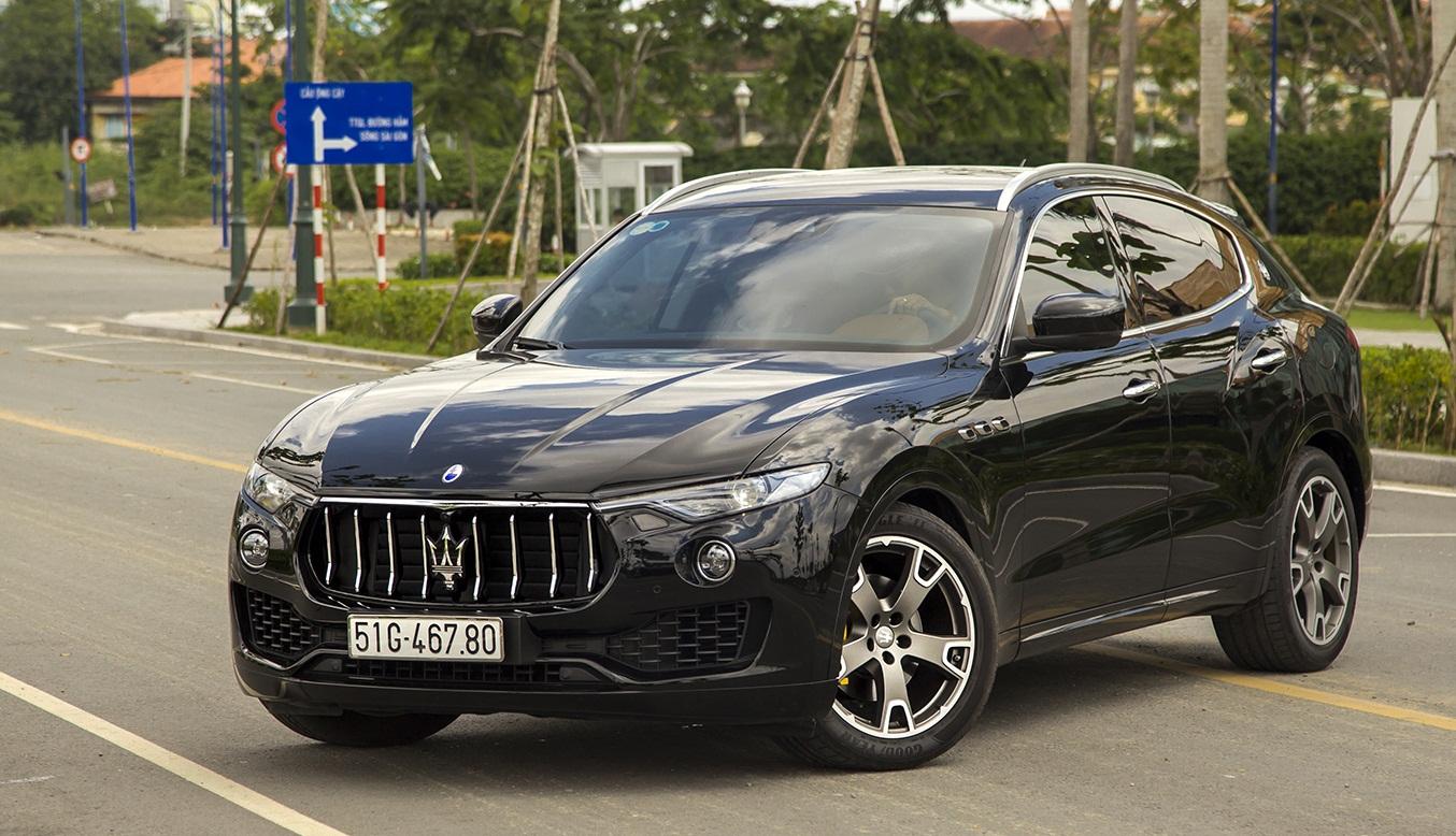 Cận cảnh Maserati Levante tại thị trường Việt (Phần 1)