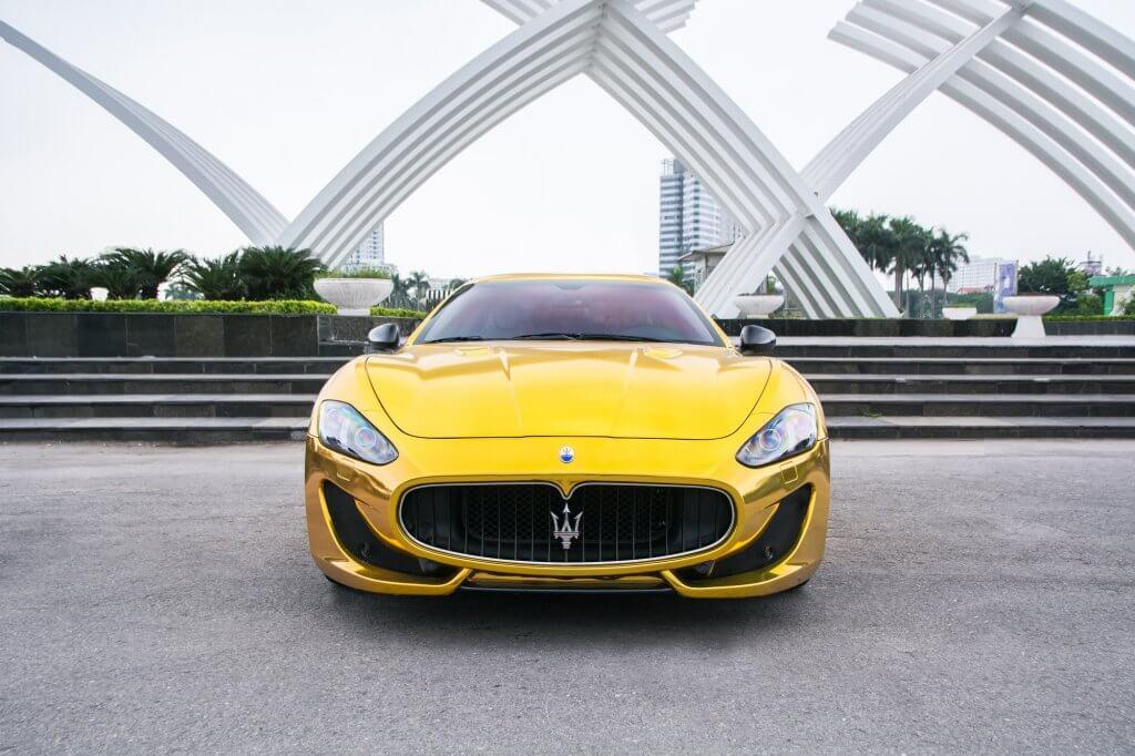 """""""Món hời"""" Maserati GranTurismo phiên bản thể thao cho khách Việt"""