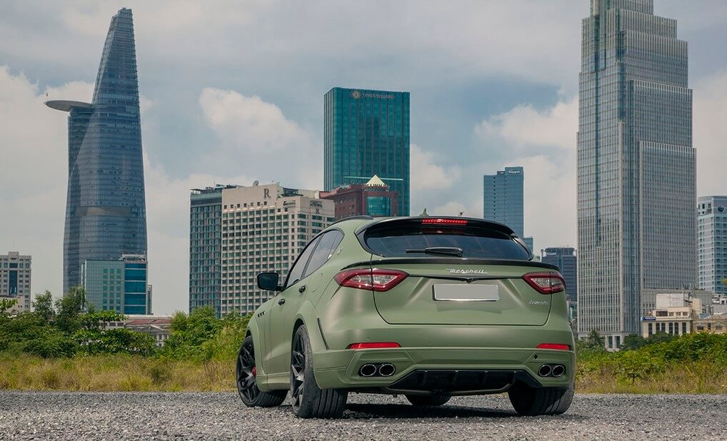 Gói độ Novitec Esteso mang đến phong thái đỉnh cao cho Maserati Levante