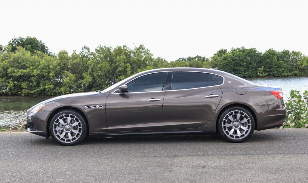 Maserati Quattroporte - phong cách của giới thượng lưu Việt