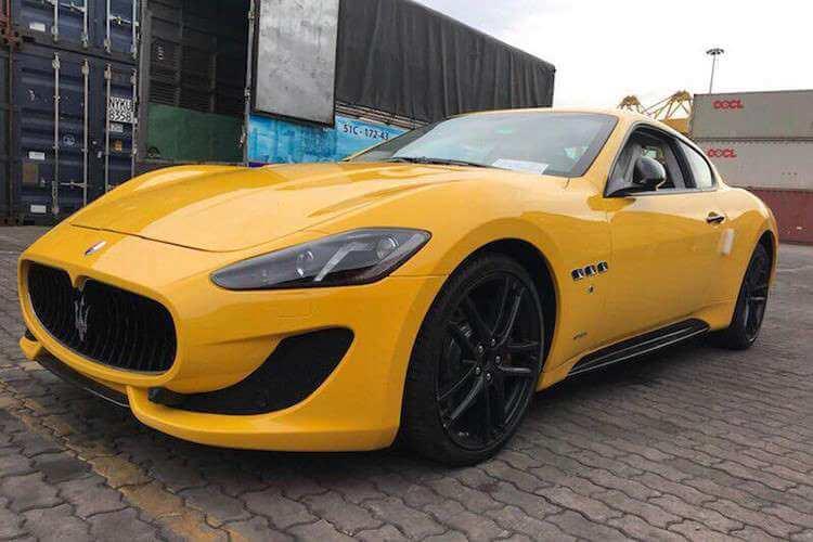Sốc với Maserati GranTurismo MC Sport Line giá gần 8 tỷ đồng