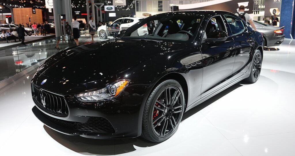 Sức hút của phiên bản giới hạn Maserati Ghibli Nerissimo