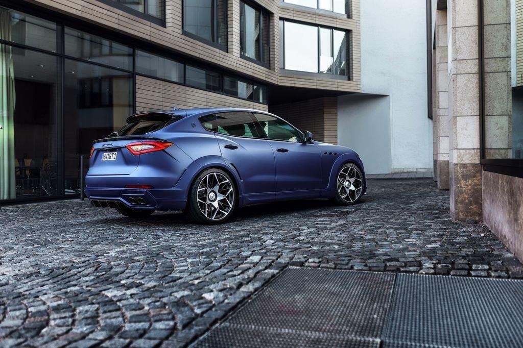 Uy lực đáng gờm của bản độ Maserati Levante Novitec Esteso