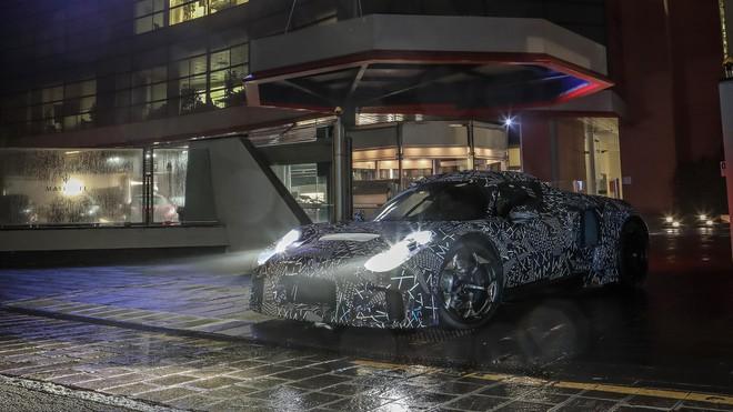 Maserati hé lộ dòng xe mới toanh sử dụng hệ dẫn động của hãng