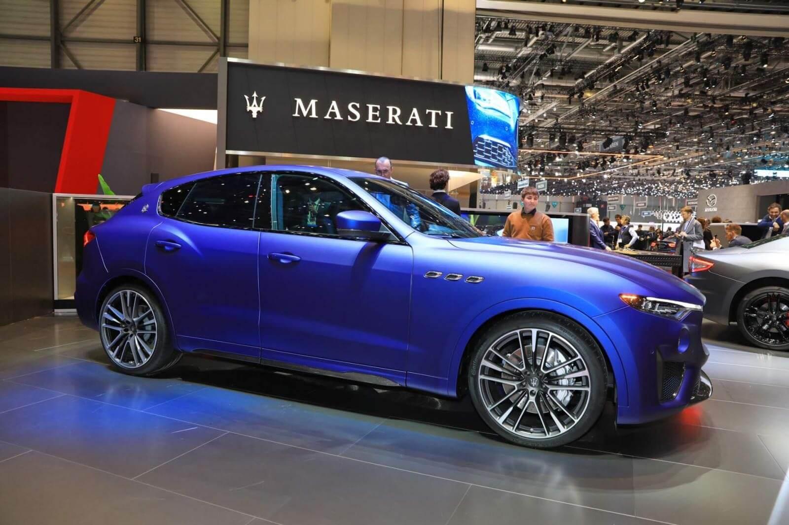 Maserati Levante Trofeo Launch Edition nhất định phải có trong bộ sưu tập siêu xe hiếm