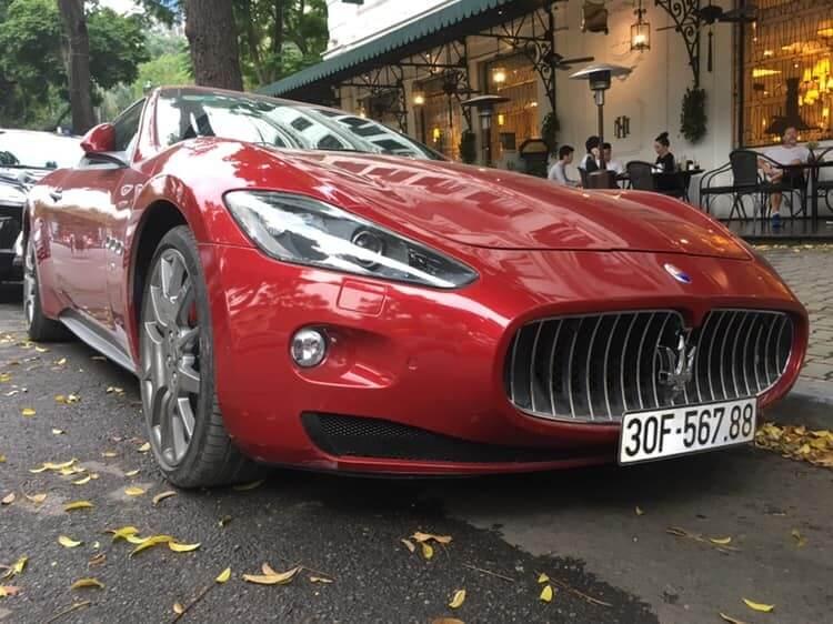 Siêu xe Maserati GranTurismo mang ý nghĩa may mắn