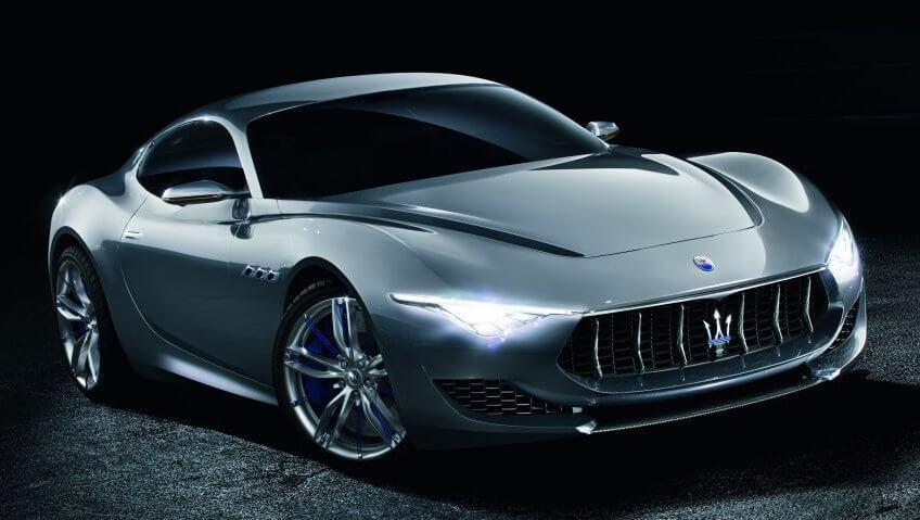 Maserati Alfieri - chiếc coupe thương mại mới trở thành đối thủ của Tesla Roadster