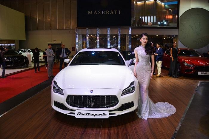 Maserati Quattroporte GTS như hỗ thêm cánh khi mang sức mạnh của Ferrari