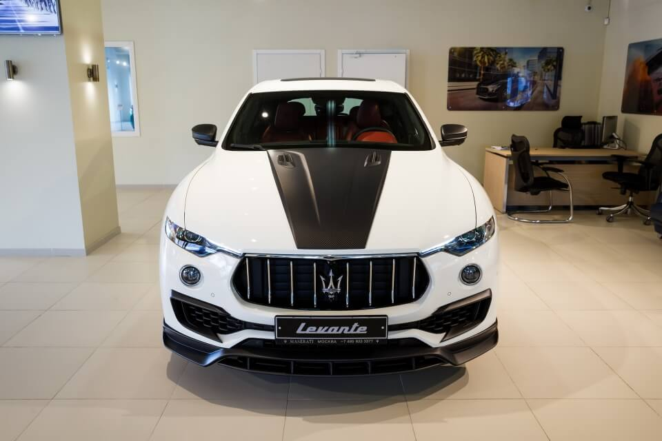Tìm hiểu nhanh Maserati Levante độ body kit Novitec