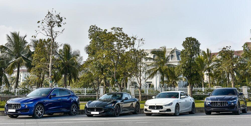 """4 gương mặt """"thần thánh"""" Maserati khuynh đảo đường phố Hà Nội"""