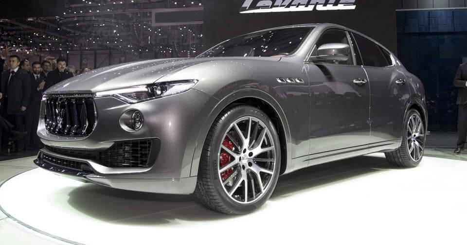 Đàn em của mẫu SUV Levante sẽ xuất hiện trong năm 2020