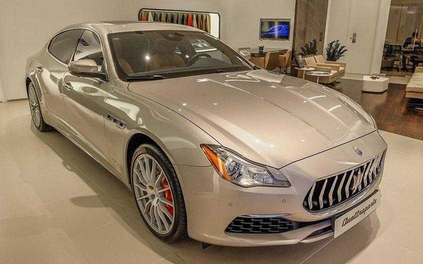 """Gói """"cá nhân hóa"""" hàng ghế sau của Maserati Quattroporte GranLusso"""