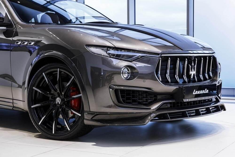 Maserati Levante S 2020 cực bảnh với gói Shtorm Kit