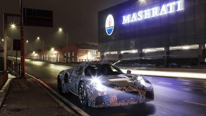 Maserati tự phát triển hệ truyền động mới cho các mẫu xe tương lai