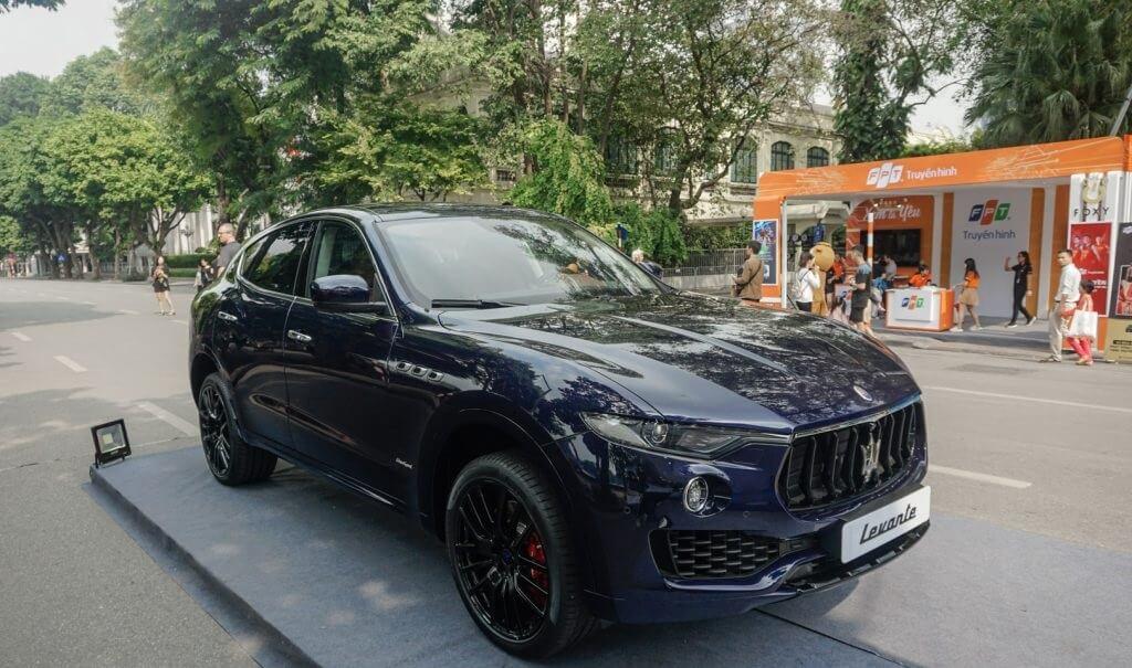 Bảng giá xe Maserati Levante GranSport 2020 tại Việt Nam