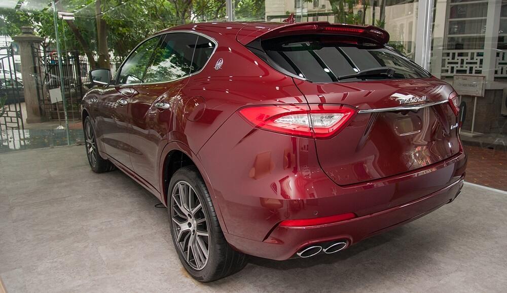 Maserati Levante màu Rosso Rubino độc nhất vô nhị xuất hiện