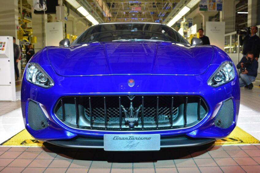 Mẫu xe Maserati GranTurismo cuối cùng cũng đã xuất xưởng