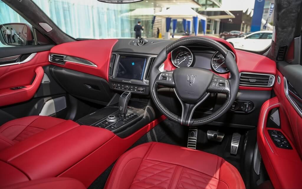 Thị trường Malaysia may mắn sở hữu 10 chiếc Maserati Levante Vulcano