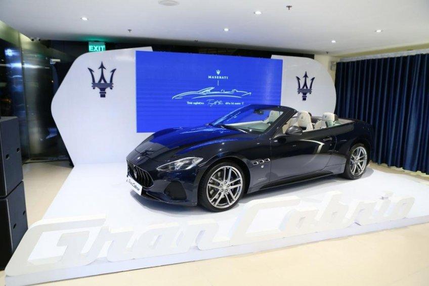 Maserati GranCabrio Sport lặng lẽ được giới thiệu tại thị trường Việt