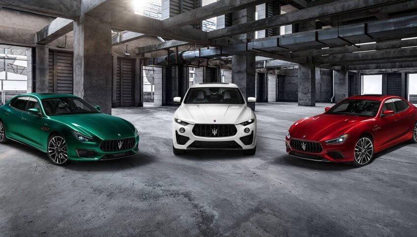 3 phiên bản Maserati Trofeo có động cơ V8 của Ferrari xuất hiện