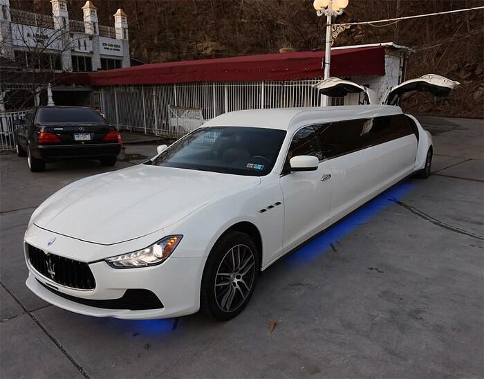 Bản độ Maserati Ghibli gây sốc với mức giá 3.5 tỷ đồng