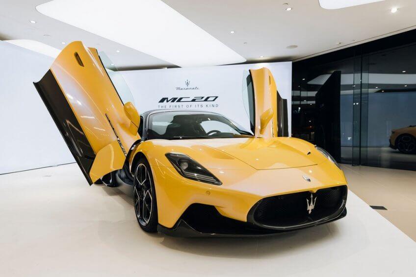 Maserati MC20 tại Australia sẽ có giá 310.600 USD