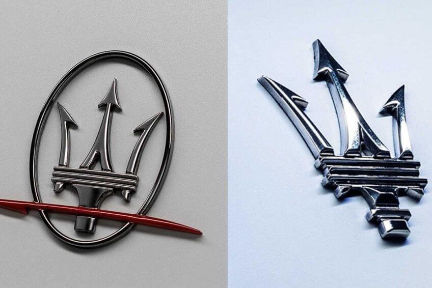 Maserati sử dụng logo mới đồng thời lộ diện Ghibli mới