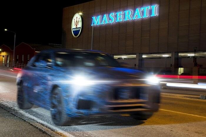 Lộ diện hình ảnh mới nhất của Maserati Grecale