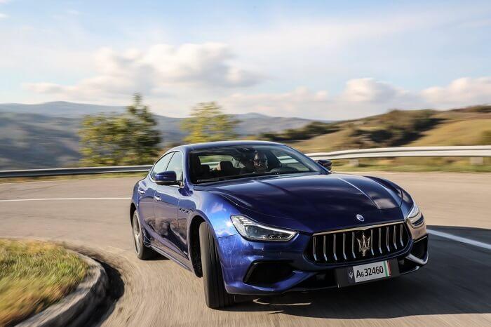 Mổ xẻ Maserati Ghibli Hyrid vừa xuất hiện