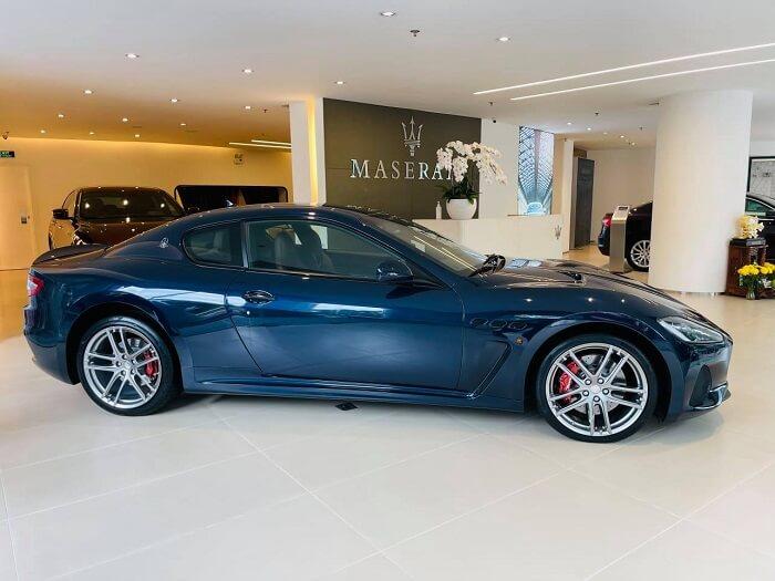 Mổ xẻ bản nâng cấp Maserati GranTurismo có giá 14 tỷ đồng