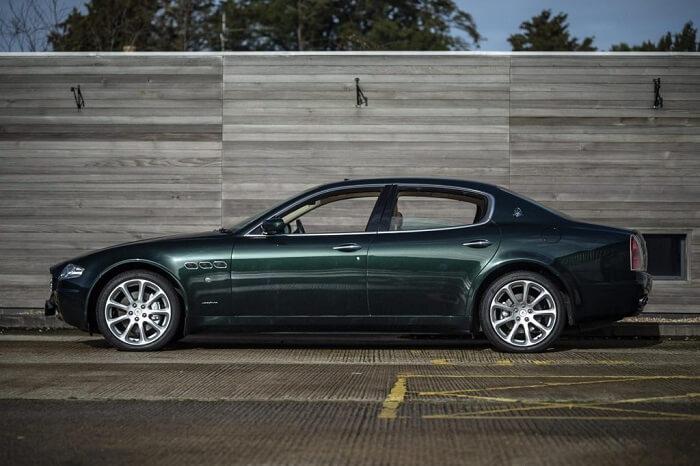 Mê mẩn trước sắc đẹp Maserati Quattroporte của Rock Elton John (Phần 1)